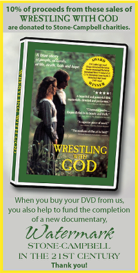 WRESTLING WITH GOD comes to DVD (click on the ad)